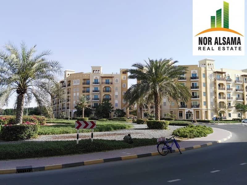 Emirates   Cluster  -  Vacant  Studio  - well  Maintained  Building
