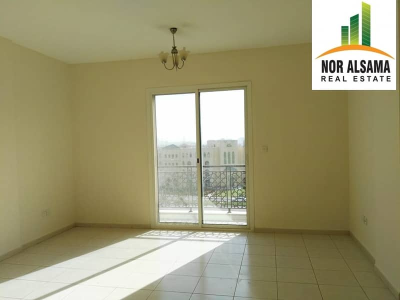2 Emirates   Cluster  -  Vacant  Studio  - well  Maintained  Building
