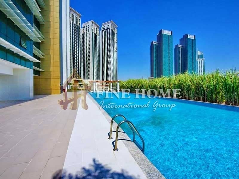 20 High Floor !  2 BR. Apartment  in Tala Tower
