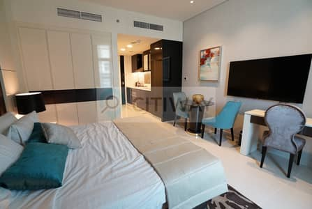 Studio for Rent in Business Bay, Dubai - Partial Canal View  | Furnished Studio | Luxurious