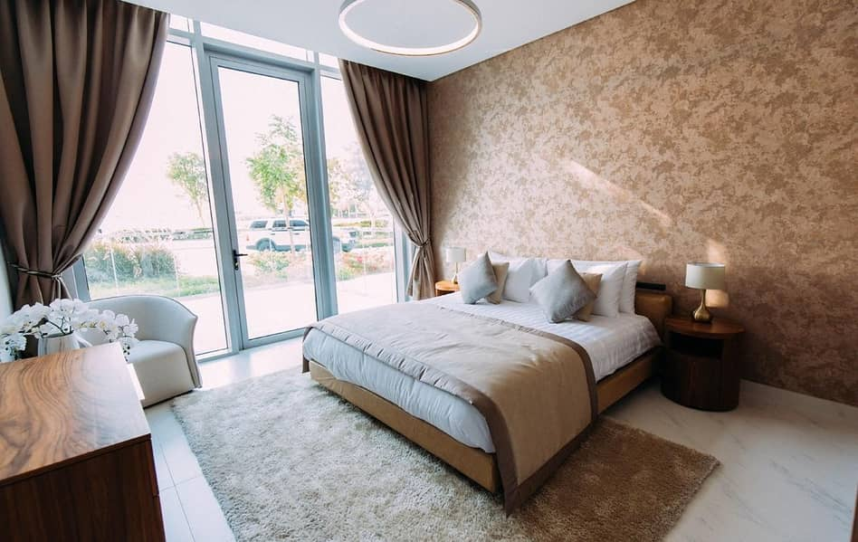 Beach Front    Free Hold Near Downtown   1 Bed Branded  Furnished   Meydan District One   Near Meydan One Mall
