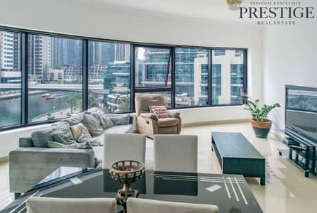 فلیٹ 3 غرفة نوم للايجار في دبي مارينا، دبي - 3 Bedroom + Maid Room Apartment Time Place