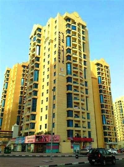 شقة 3 غرفة نوم للبيع في عجمان وسط المدينة، عجمان - شقة في أبراج الخور عجمان وسط المدينة 3 غرف 375000 درهم - 4423570
