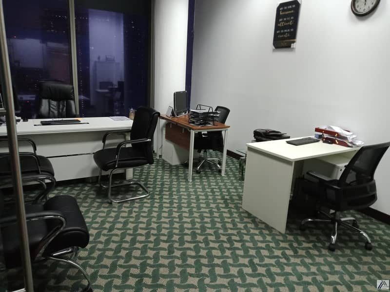 Fully Furnished Serviced Independent Offices in Beautiful Near Land Mark Building one minute walk away from DIFC Metro
