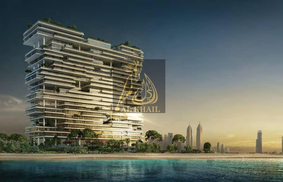 2 Upscale Triplex 5BR Sky Penthouse in Palm Jumeirah | Perfect Location with Stunning Sea Views