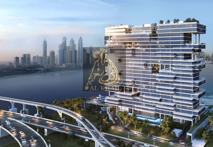 15 Upscale Triplex 5BR Sky Penthouse in Palm Jumeirah | Perfect Location with Stunning Sea Views