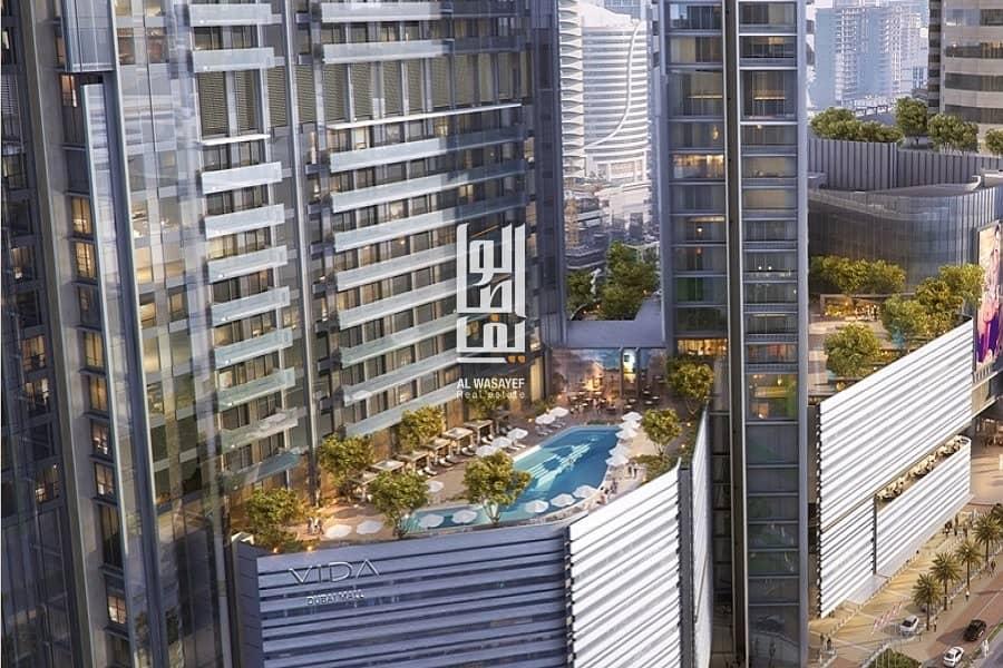 2 Grab the offer now! | Zero commission | Prime location | Vida Dubai Mall