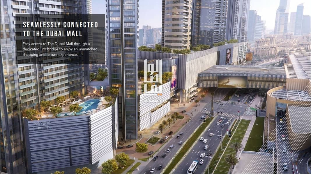 12 Grab the offer now! | Zero commission | Prime location | Vida Dubai Mall