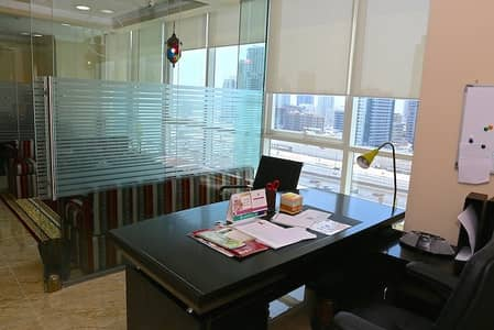 Office for Sale in Jumeirah Lake Towers (JLT), Dubai - Direct OWNER sale - fully fitted / furnished Office unit