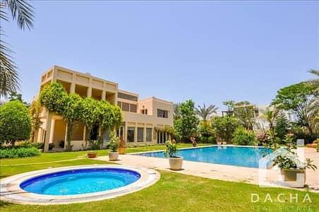 5 Bedroom Villa for Sale in Emirates Hills, Dubai - Lake Facing / Large plot / Call Alexander