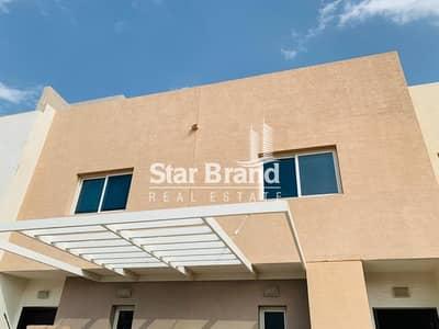 فیلا 2 غرفة نوم للايجار في الريف، أبوظبي - SINGLE ROW! 2 BEDROOM VILLA IN CONTEMPORARY VILLA FOR RENT