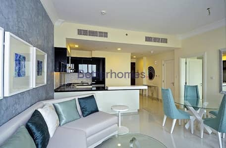 1 Bedroom Flat for Rent in Downtown Dubai, Dubai - High Floor   Furnished   Close to Dubai Mall