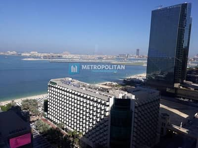 2 Bedroom Apartment for Sale in Jumeirah Beach Residence (JBR), Dubai - Sea view I Spacious 2 bedrooms Ivacant Unfurnished