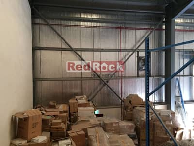 Warehouse for Rent in Ras Al Khor, Dubai - With Fitted Racks 2200 Sqft Warehouse in Ras Al Khor