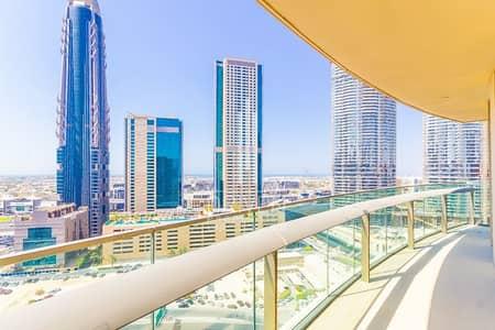 فلیٹ 2 غرفة نوم للبيع في وسط مدينة دبي، دبي - Vacant and Huge| Top Floor with Sea View