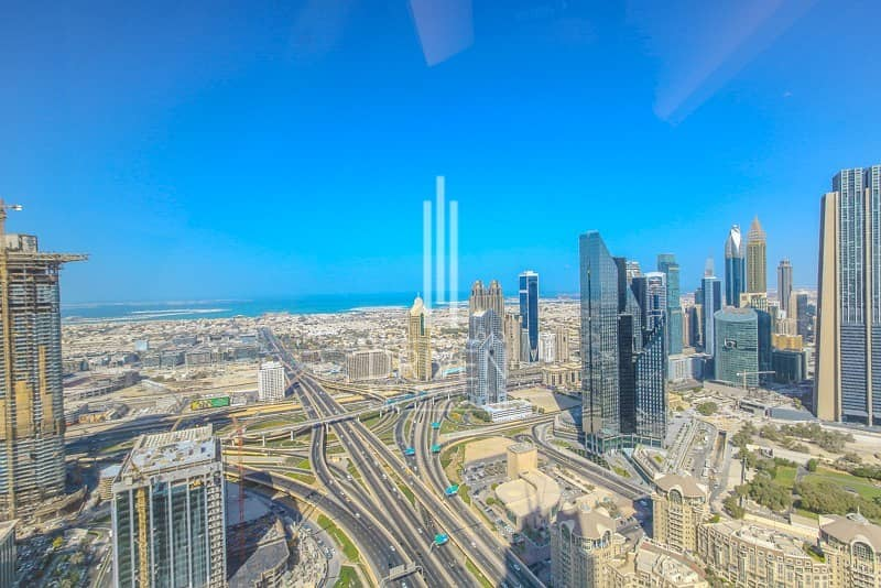 16 Full Burj Khalifa View High Flr 3BR 06 Unit