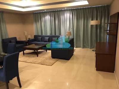 شقة 3 غرفة نوم للايجار في منطقة النادي السياحي، أبوظبي - Furnished Beautiful 3 Bedroom Apartment