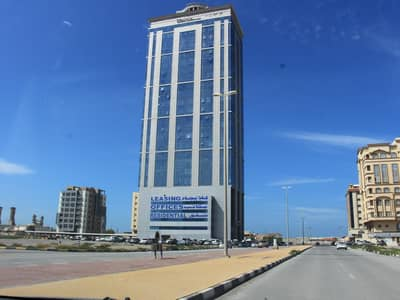2 Bedroom Apartment for Rent in Al Nakheel, Ras Al Khaimah - High floor - sea view- 2 BHK apartment for rent in 'union' Tower
