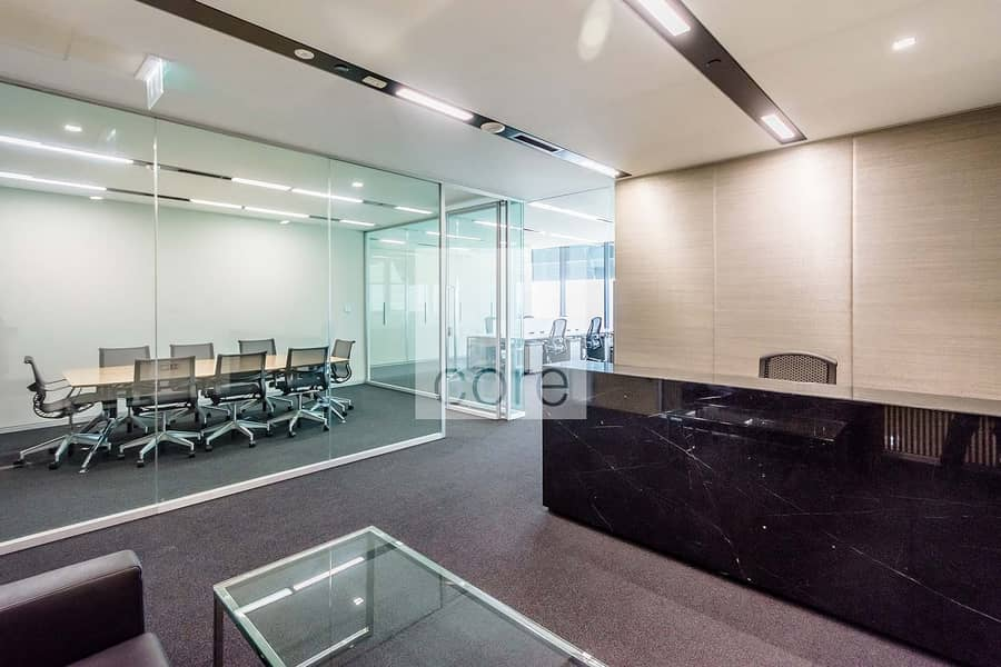 2 Fully Fitted Office | Low Floor | Freezone