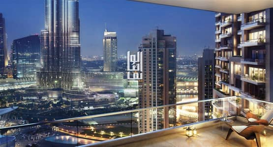 1 Bedroom Flat for Sale in Downtown Dubai, Dubai - OWN A LUXURY APARTMENT IN DOWNTOWN WITH 6  YEARS INSTALLMENT!! 1Bedroom for sale