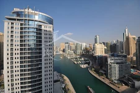 شقة 1 غرفة نوم للايجار في دبي مارينا، دبي - High Floor | Open Views | Prime Location