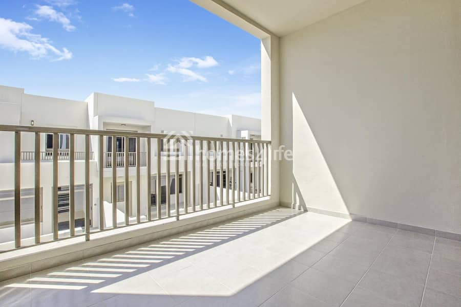 2 Next to pool in Zahra Apartments | Corner unit Townhouse |
