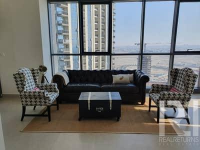 1 Bedroom Apartment for Rent in The Lagoons, Dubai -  high floor [DE]