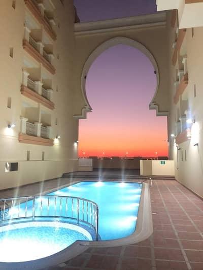 فلیٹ 2 غرفة نوم للايجار في الورسان، دبي - HOT BUILDING!! BRAND NEW TWO BHK FOR RENT IN WARSAN 4-FULLY FACILITY BUILDING