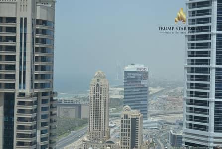 1 Bedroom Flat for Rent in Dubai Marina, Dubai - Marina View - High Floor -  Closed Kitchen