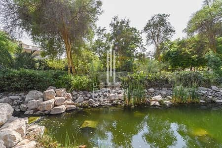 Plot for Sale in Al Barari, Dubai - Huge Plot on the Water| Affordable Price