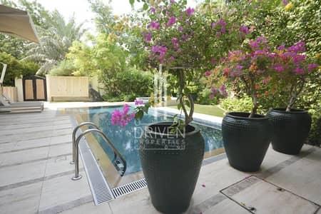 فیلا 6 غرف نوم للبيع في البراري، دبي - Upgraded And Fully Furnished|Type D Villa