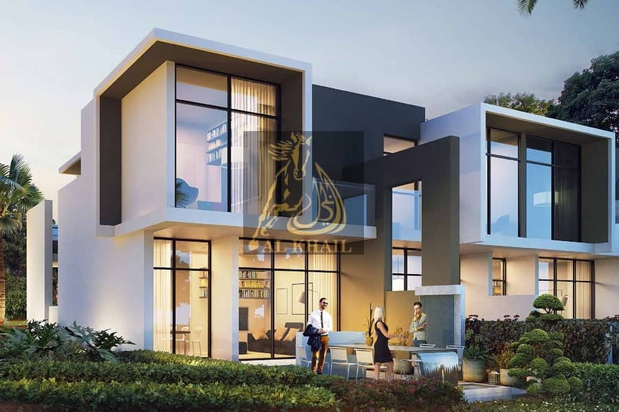 10 High-End 3BR Middle Unit Townhouse for sale in Akoya Oxygen | Flexible 4 Years Payment Plan | Community Views