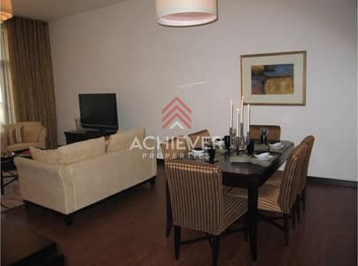 2 Bedroom Flat for Rent in Jumeirah Lake Towers (JLT), Dubai - Fully Furnished | 2 Bedroom+ Maid | Close to Metro