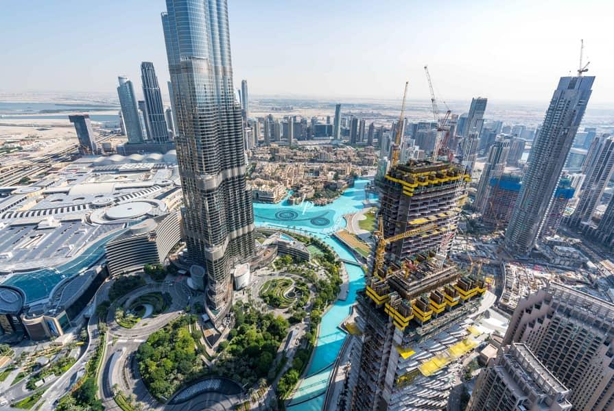 32 New to Market|Burj Khalifa View|High Floor
