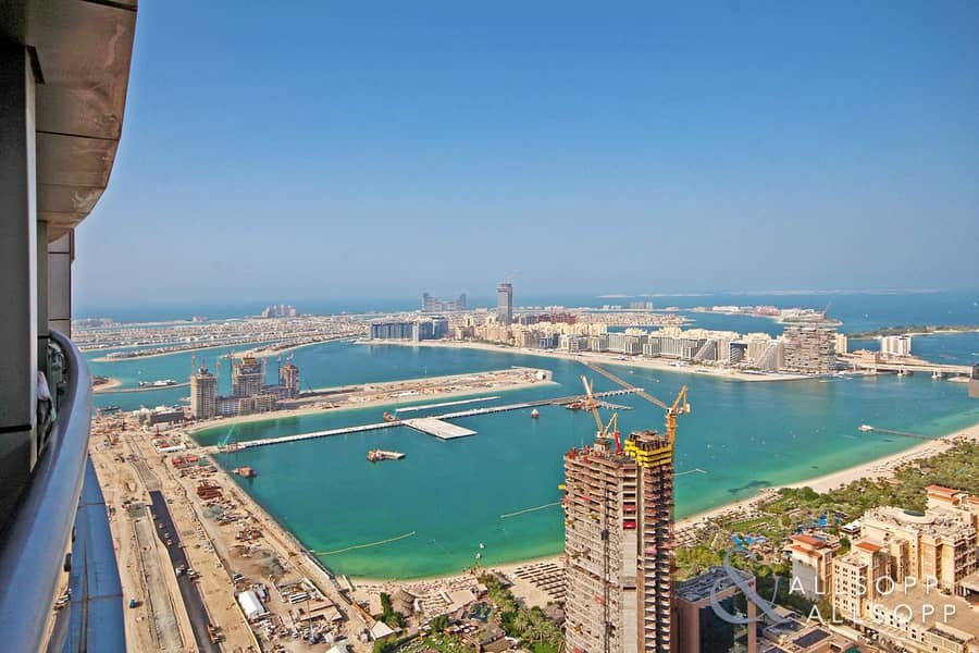 High Floor - 923sq ft - Vacant - Sea Views