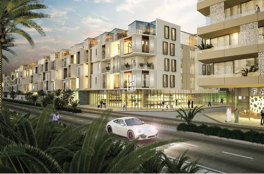 2 Own a stunning one bedroom apartment with installments over five years....