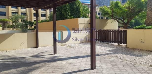 فلیٹ 3 غرف نوم للايجار في الروضة، دبي - Cheapest price|Ground Floor with courtyard|
