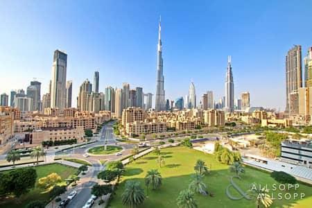 فلیٹ 2 غرفة نوم للبيع في وسط مدينة دبي، دبي - Exclusive | Vacant | Burj Kahlifa View