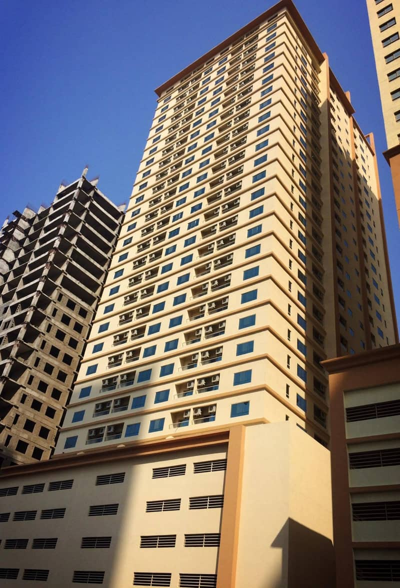 Bestb offer! Ideal and spacious 2 Bedroom Hall w/ parking in Lake Tower C04 Emirates City Ajman