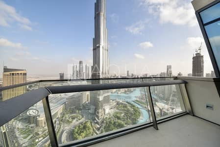 3 Bedroom Apartment for Rent in Downtown Dubai, Dubai - Burj & Fountain View | 3 BR + Maids
