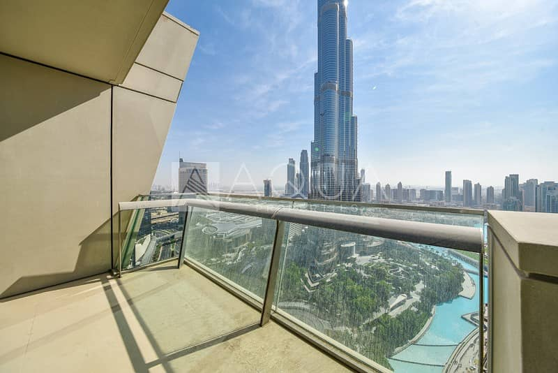 10 3BR+ Maid's | High Floor | Burj and Fountain View