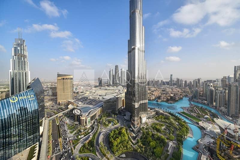 11 Burj & Fountain View | 3 BR + Maids