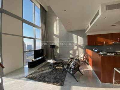 فلیٹ 2 غرفة نوم للايجار في مركز دبي المالي العالمي، دبي - Luxurious finishing | High Floor | Sea View