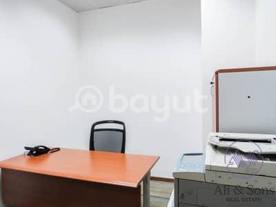 مکتب  للايجار في أم النار، أبوظبي - Office for rent at Ali & Sons Business Centre