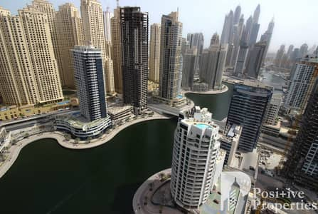 3 Bedroom Hotel Apartment for Sale in Dubai Marina, Dubai - Marina View + High Floor + Furnished + Serviced Apt