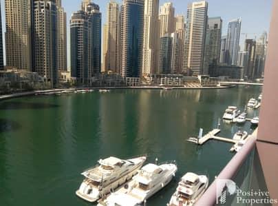 3 Bedroom Flat for Rent in Dubai Marina, Dubai - Large APT- Full Marina View- Available Dec 15th
