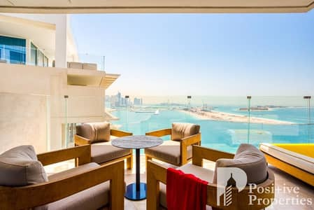 2 Bedroom Apartment for Sale in Palm Jumeirah, Dubai - New | 07 Layout | High Floor | Sea View