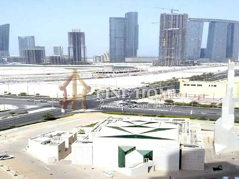 21 City & partial Sea view 2 BR.Apartment in Al Maha Tower