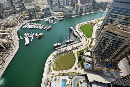 2 Bedroom Flat for Rent in Dubai Marina, Dubai - Brand New | Full Marina View | Chiller Free
