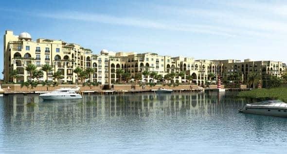 شقة في مجمع القرم الشرقي الطريق الشرقي 1 غرف 97000 درهم - 4427630
